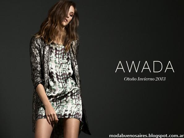 Coleccion otoño invierno 2013 Awada
