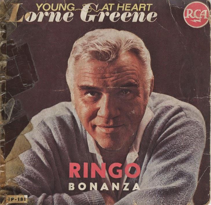 Lorne Greene - Pop Goes The Hammer / The Man