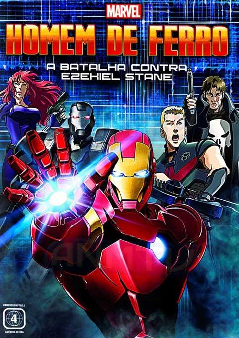 Homem de Ferro: A Batalha Contra Ezekiel Stane Torrent - Blu-ray Rip 720p e 1080p Dual Áudio (2013)