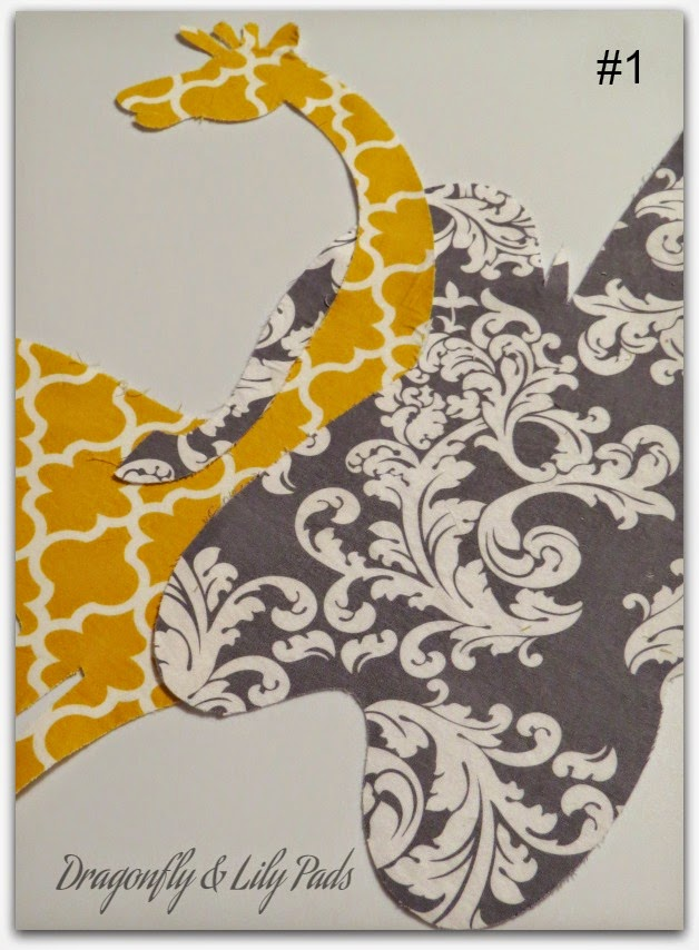 Sweet Baby Love Quilt, Yellow, White, Gray, Giraffe, Elephant, Silhouette Cameo