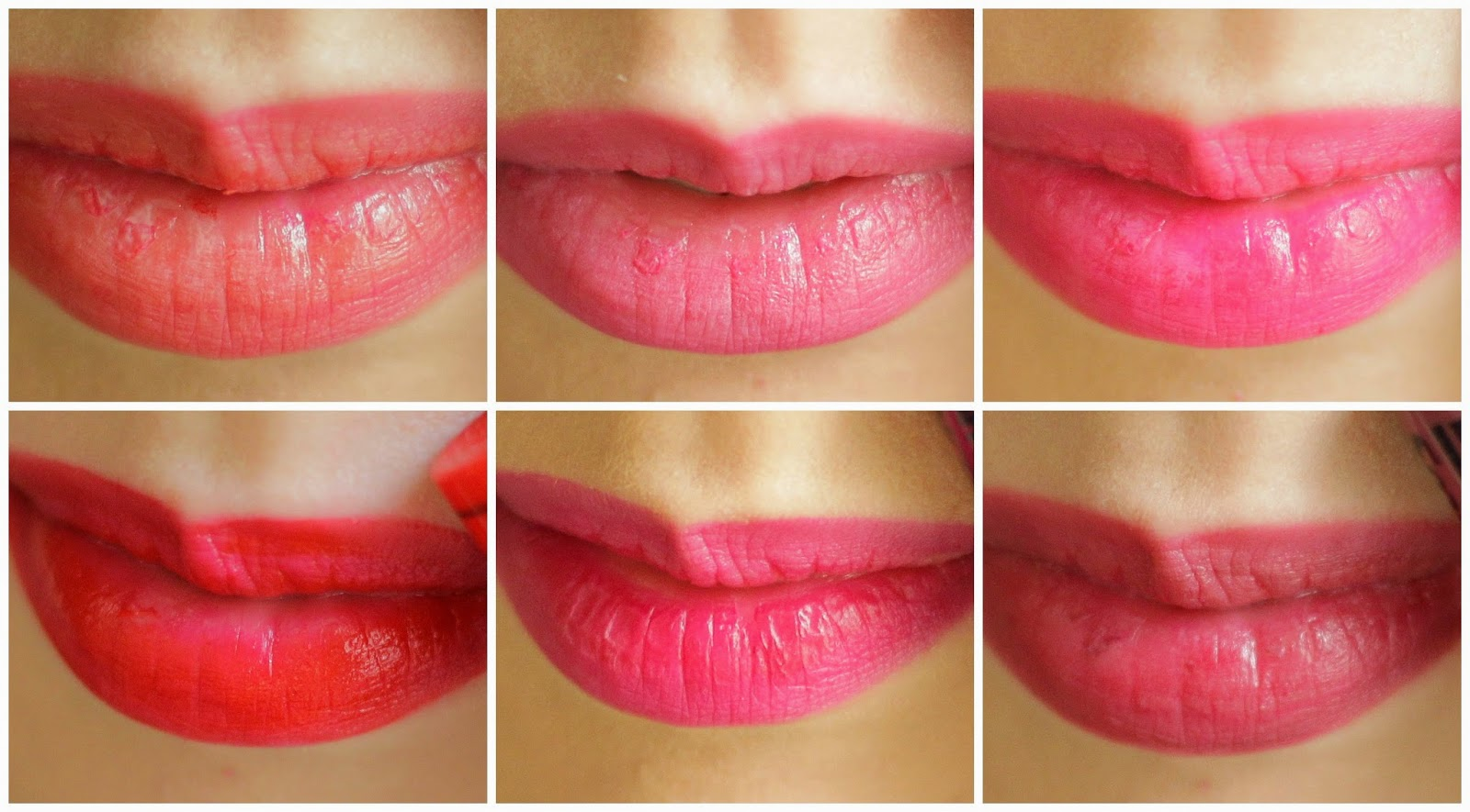 nyc smooch proof liquid lip stain swatches