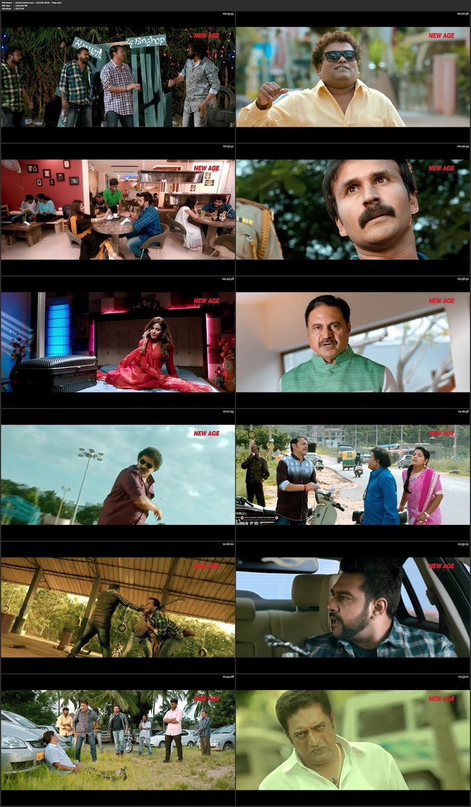 Seizer 2018 Hindi 300MB Movie WEB HD 480p