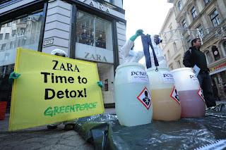 Greenpeace´s Detox campaign y Zara