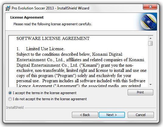 cara mudah install pes 2013 di komputer: cara instal game pes 2013 di