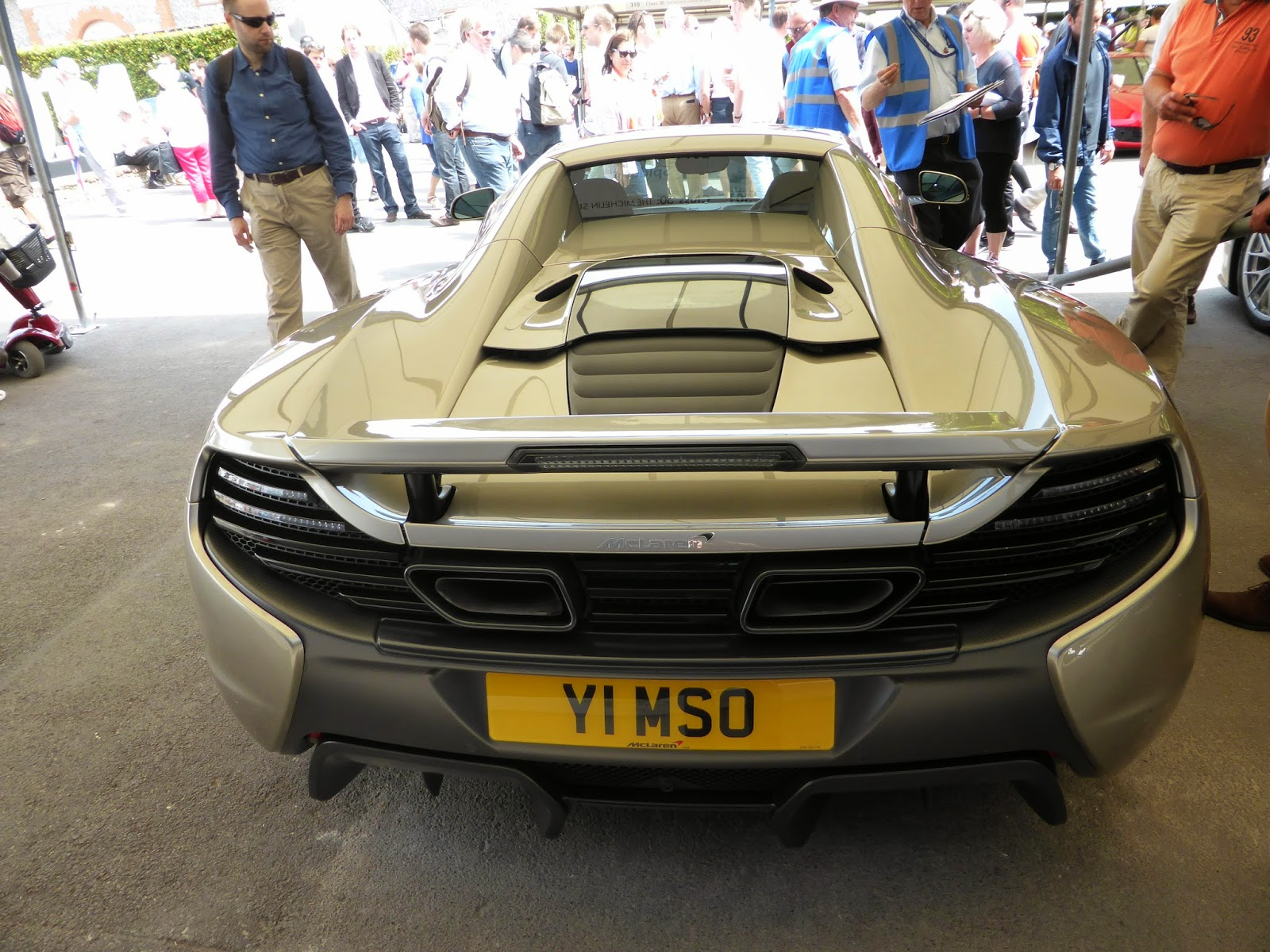 McLaren 650S MSO in the supercar paddock