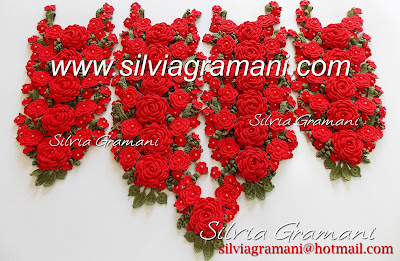 Colares de Crochê com Flores, Colar Afrodite