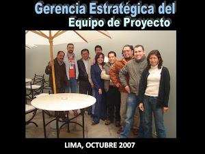 LIMA, PERÚ, OCTUBRE 2007