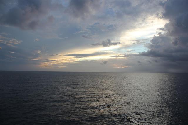 Sunrise at Kalpeni