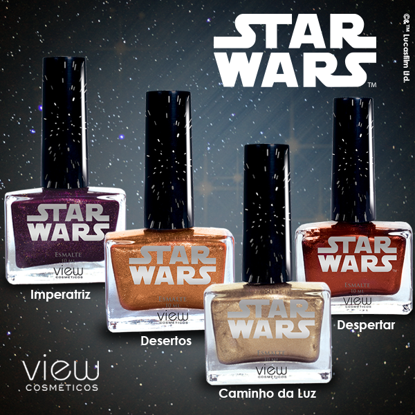 onde comprar online Coleção Star Wars da View Cosméticos