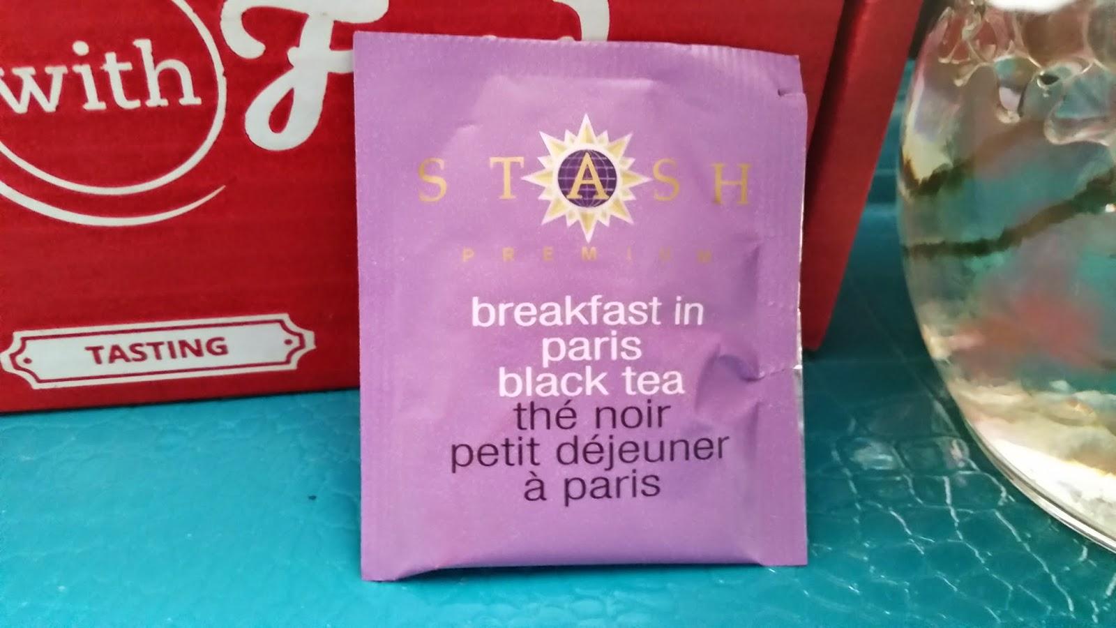 Stash Breakfast In Paris Tea Black Tea