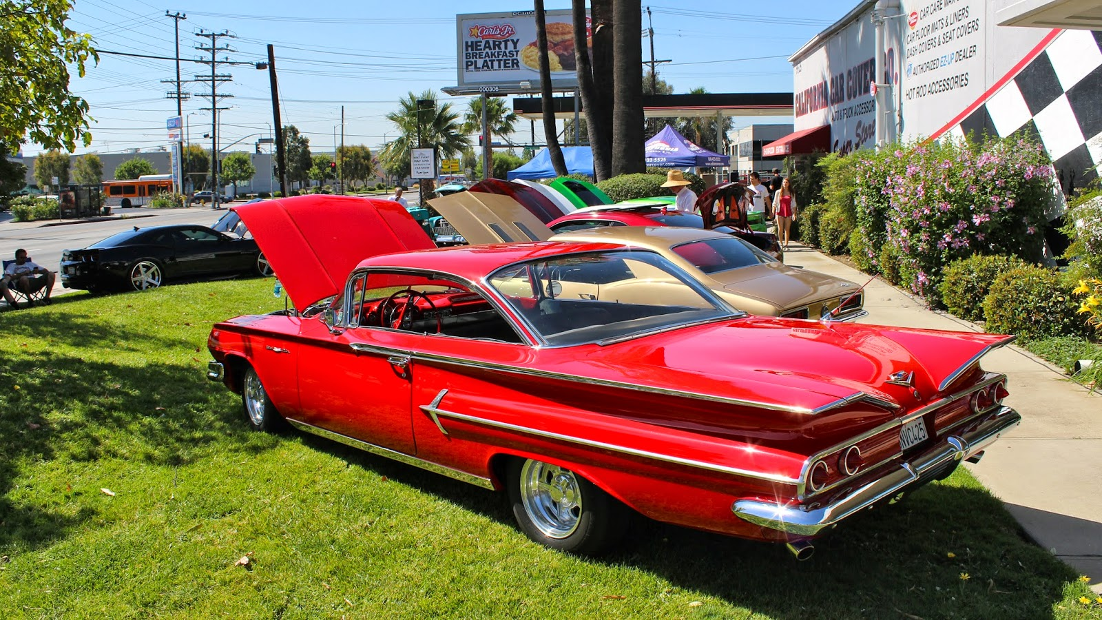 Covering Classic Cars GM Muscle Car Show At California Car Cover - California car shows