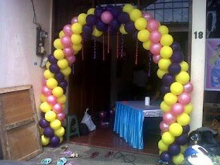 dekorasi balon E