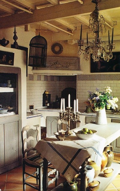 Eye for design french kitchens keep them authenic for French farmhouse design