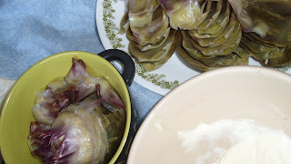 Artichokes and Aioli