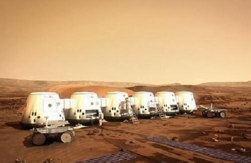 Misi ke Mars (ilustrasi OnIslam)