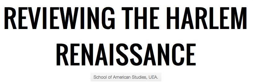 harlem renaissance thesis statement Harlem renaissance • your 2nd slide is to be your thesis statement o see for.
