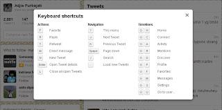 Twitter Shortcut