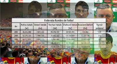 Pierderile FRF în 2012