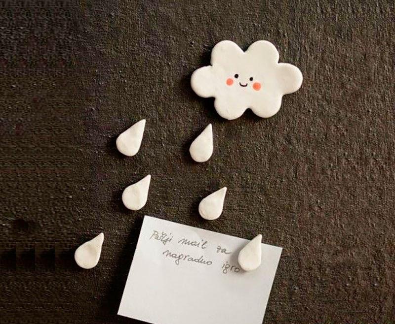 Adornos navideños de porcelana fría