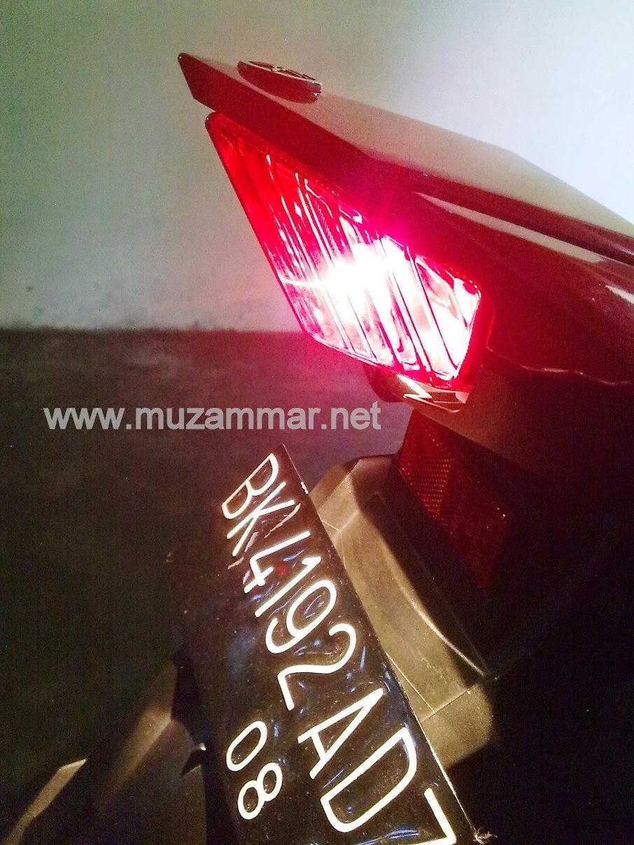 Lampu belakang New Yamaha Vixion Lightning