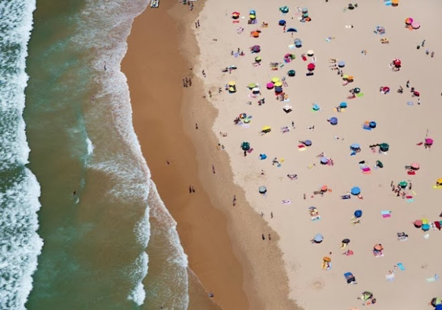 lisbon horizontal beach with waves aerial maison gray 660x462