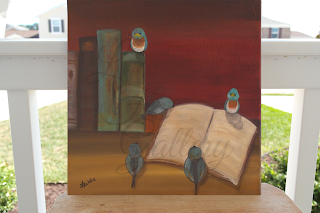 """Birds and Books"" #3"