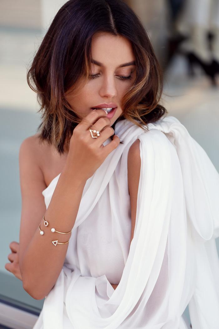 Annabele Fleur ring, Annabelle Fleur Bracelet, VivaLuxury Ring, VivaLuxury bracelet