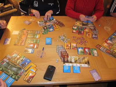 7 Wonders - The cards & player boards