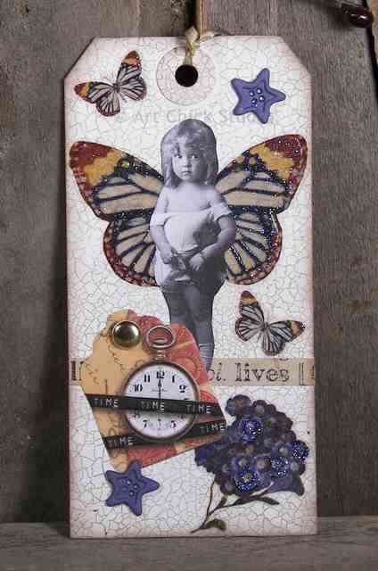 Time Altered Art Tag