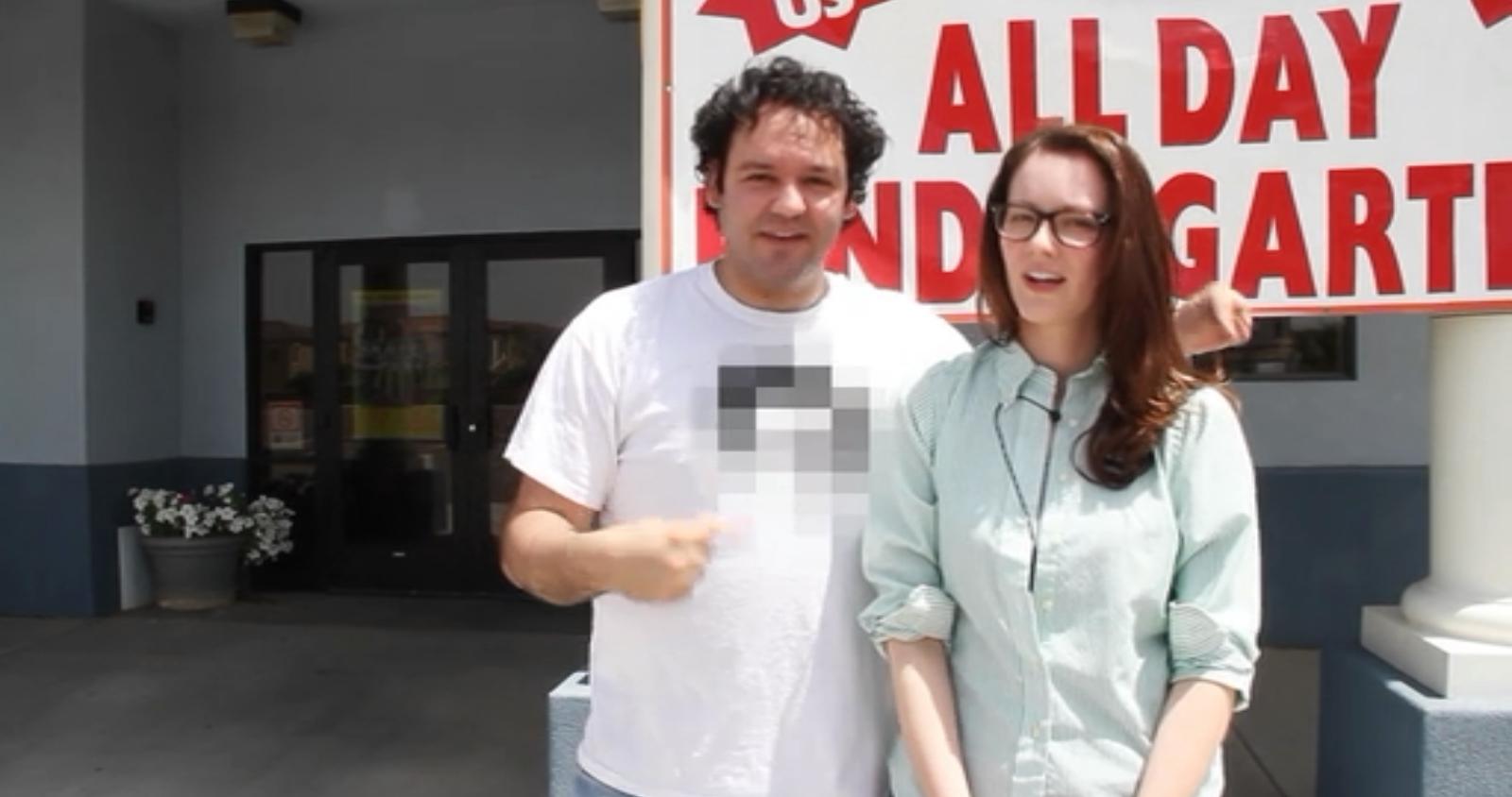 Samantha nathan and his censored shirt are waytoo extreme for your