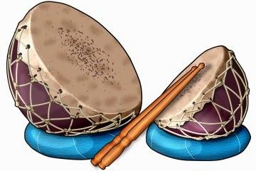 インドの太鼓 ナガラ Nagara (Nagada)