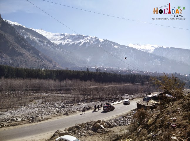 Morning view of Manali
