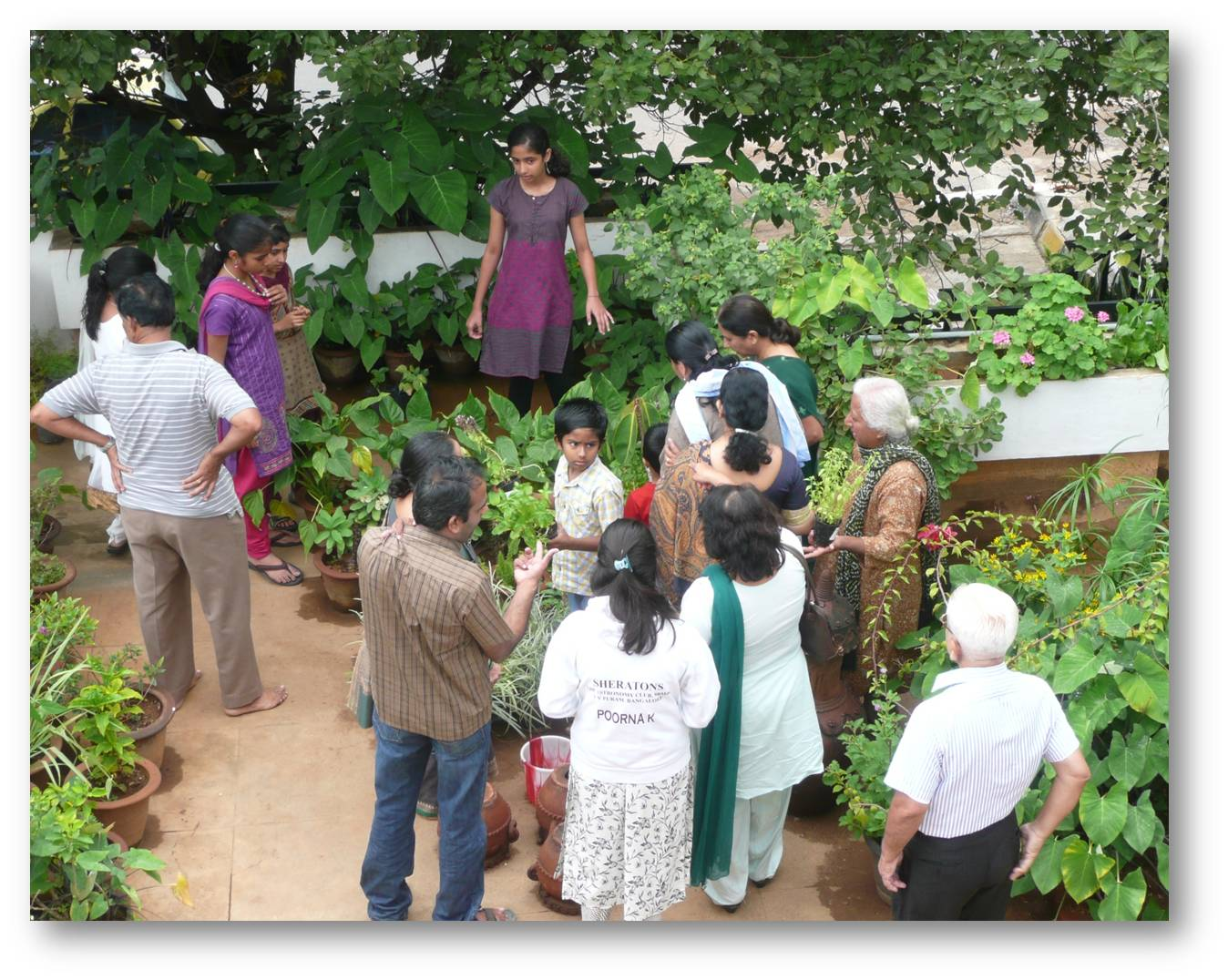 Organic Kitchen Gardening Organic Gardening Kitchen Garden Day Celebrations At Rrnagar B