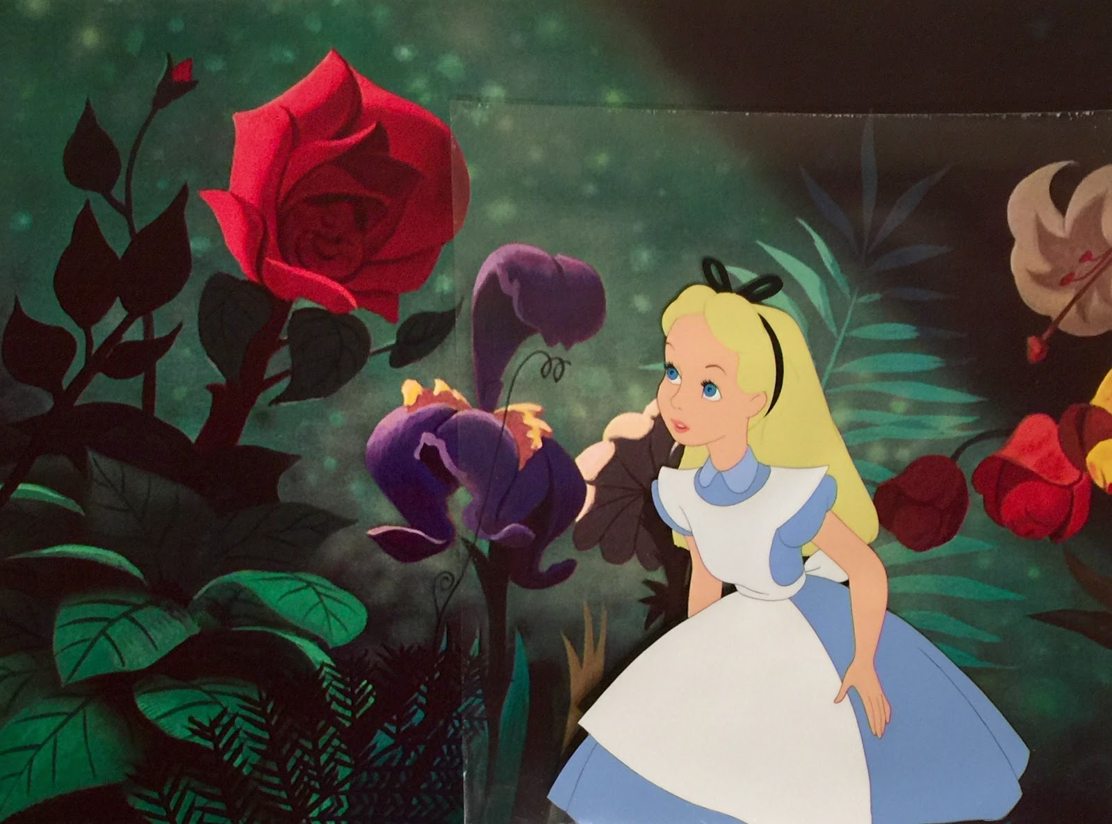 animation collection original production cel of alice from