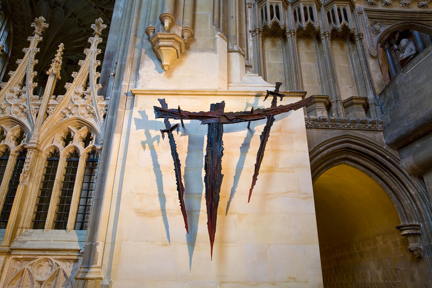 Altar of the Sword's Point, Canterbury Cathedral, Kent.