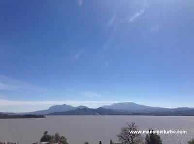 Vista del Lago de Pátzcuaro desde la Isla de Janitzio