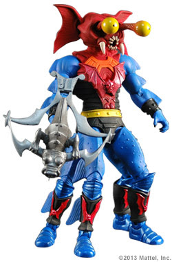 Mattle Matty Collector Master of the Universe MOTU Classics Mantenna figure