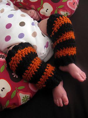 free crochet pattern legwarmers baby