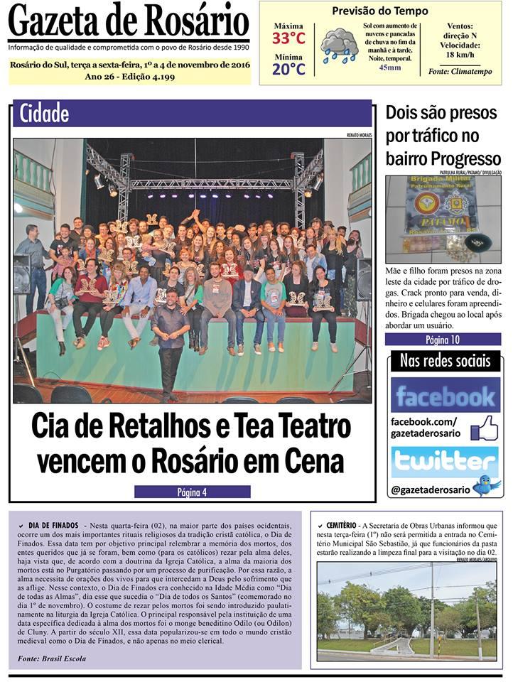 TODOS los PREMIOS del XVII FESTIVAL INTERNCIIONAL de TEATRO ROSÀRIO EM CENA- BRASIL