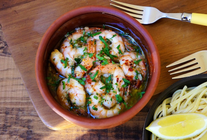 my family loves seafood and this shrimp scampi recipe is one of their ...