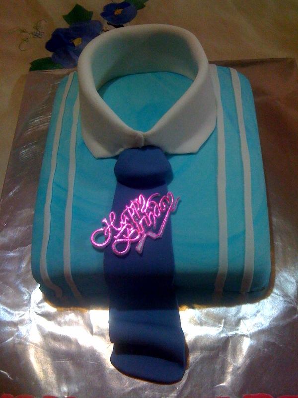 Love Suzana Cakelicious SHIRT AND TIE CAKE FOR PAPA DARLINGS
