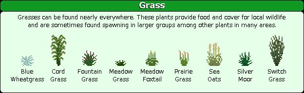 Plant Mega Pack Mod grass