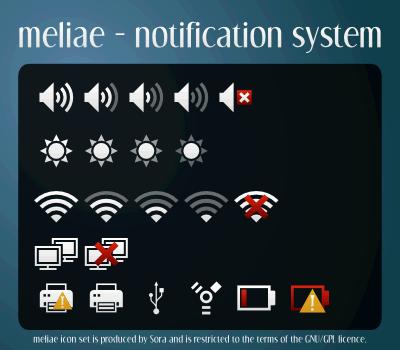 Cara Instal Meliae SVG Icon Theme di Linux Mint 17.1
