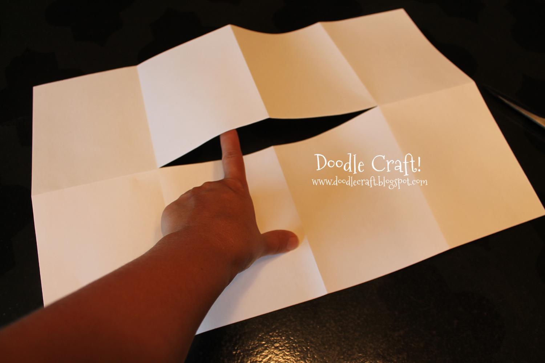 doodlecraft  easy origami 8 page book
