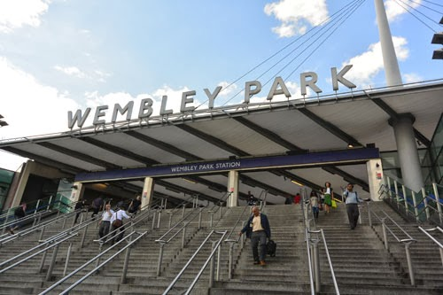 Wembley Park Station, London