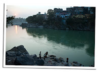 Ganges a su paso por Rishikesh