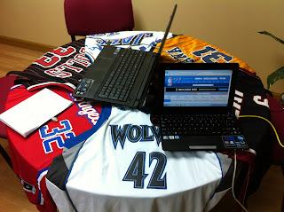 Estudio de grabación del Podcast 2 de NBA Dream