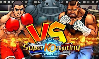 Screenshots of the Super KO Fighting for Android tablet, phone.