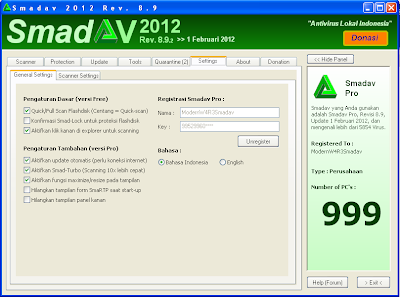 New Tips Menghilangkan Blacklist SMADAV 8.9.2 + Key Pro