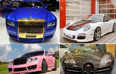 Most Expensive Celebrity Cars Pictures